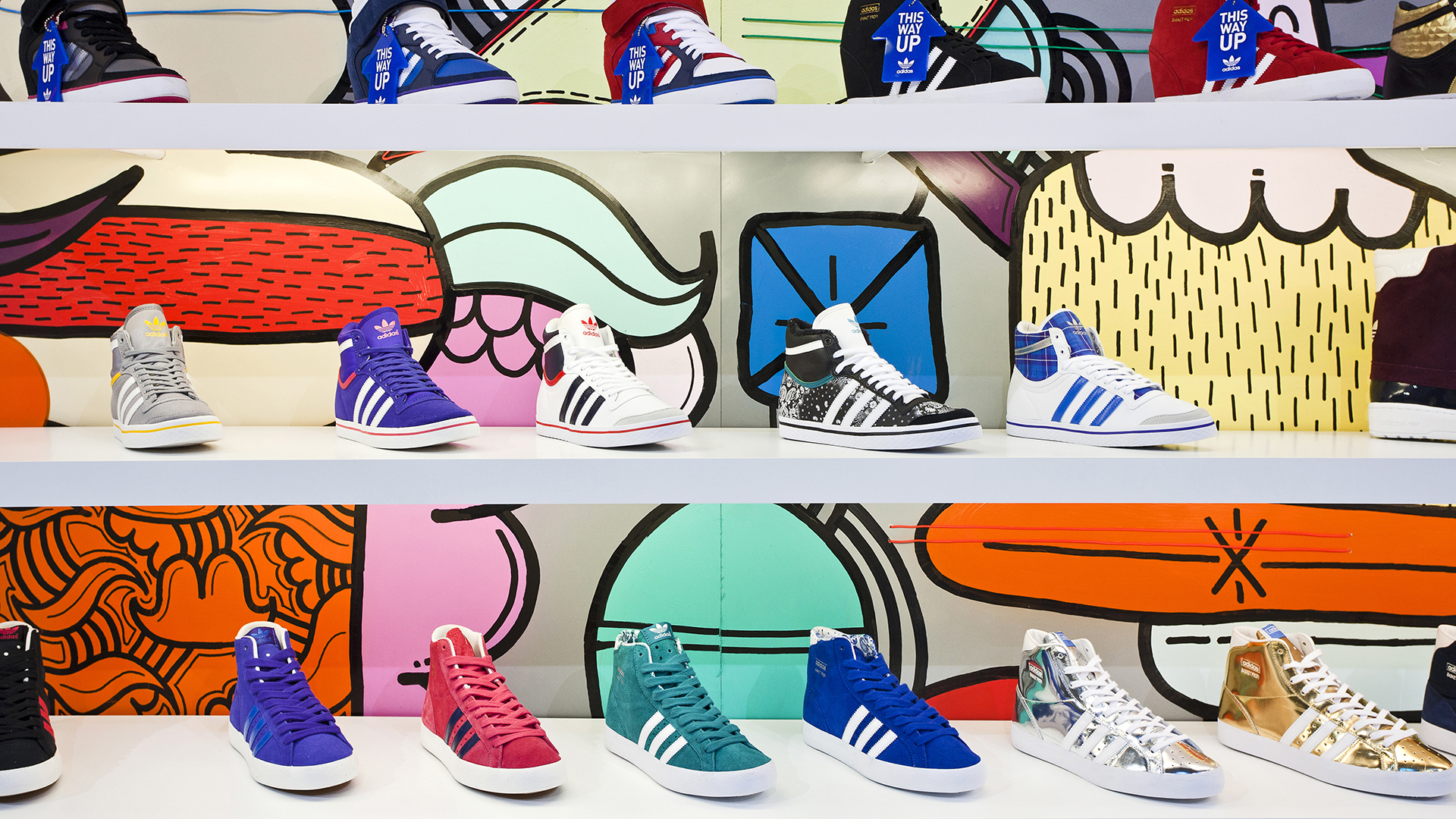 Dart stages the adidas fair stand at the B&B Winter 2013