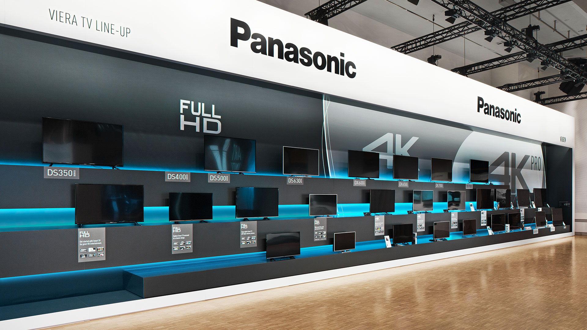 Dart stages the exhibition Convention 2016 for Panasonic