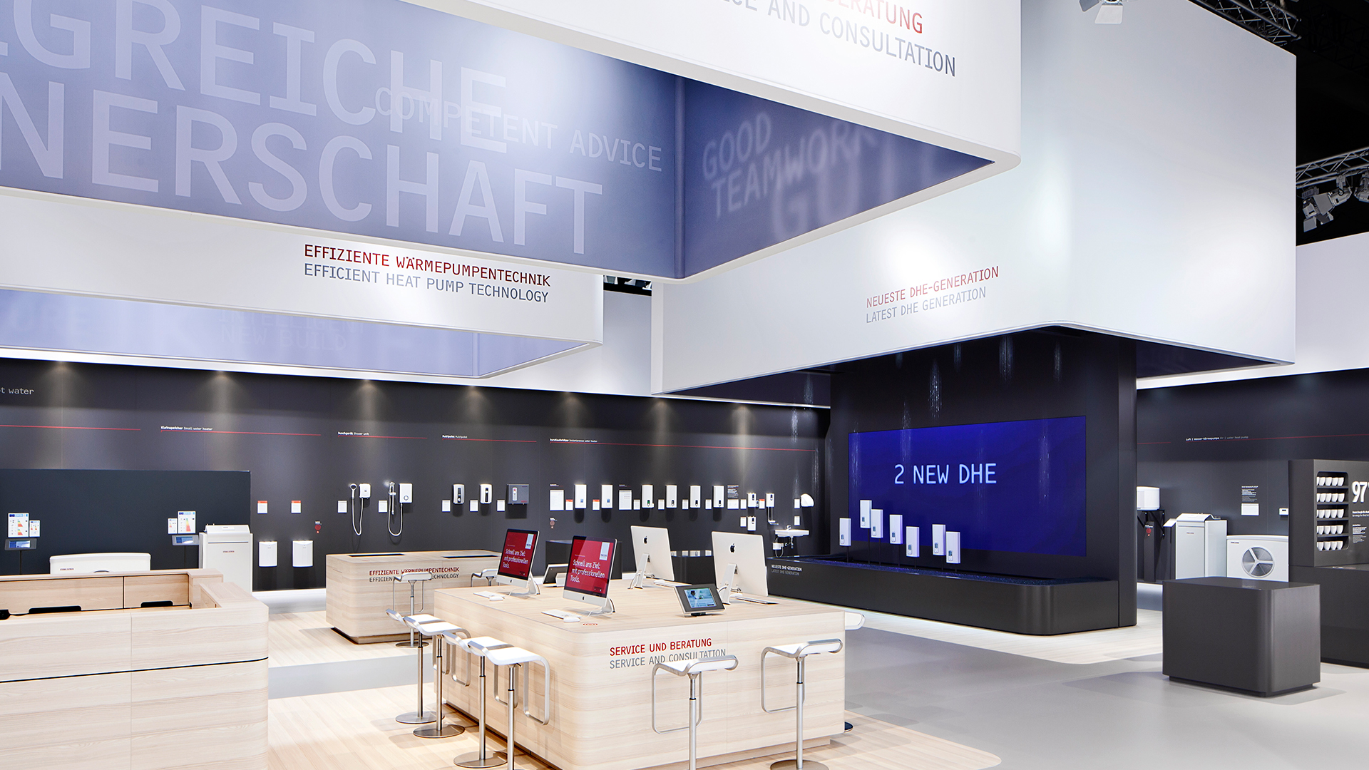Dart stages the STIEBEL ELTRON fair stand at the ISH 2015