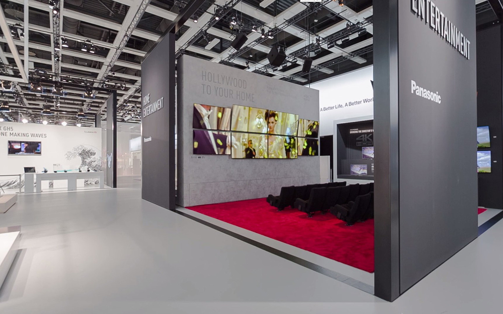 Perfekter Rahmen - Messe - Projekte - D\'art Design Gruppe