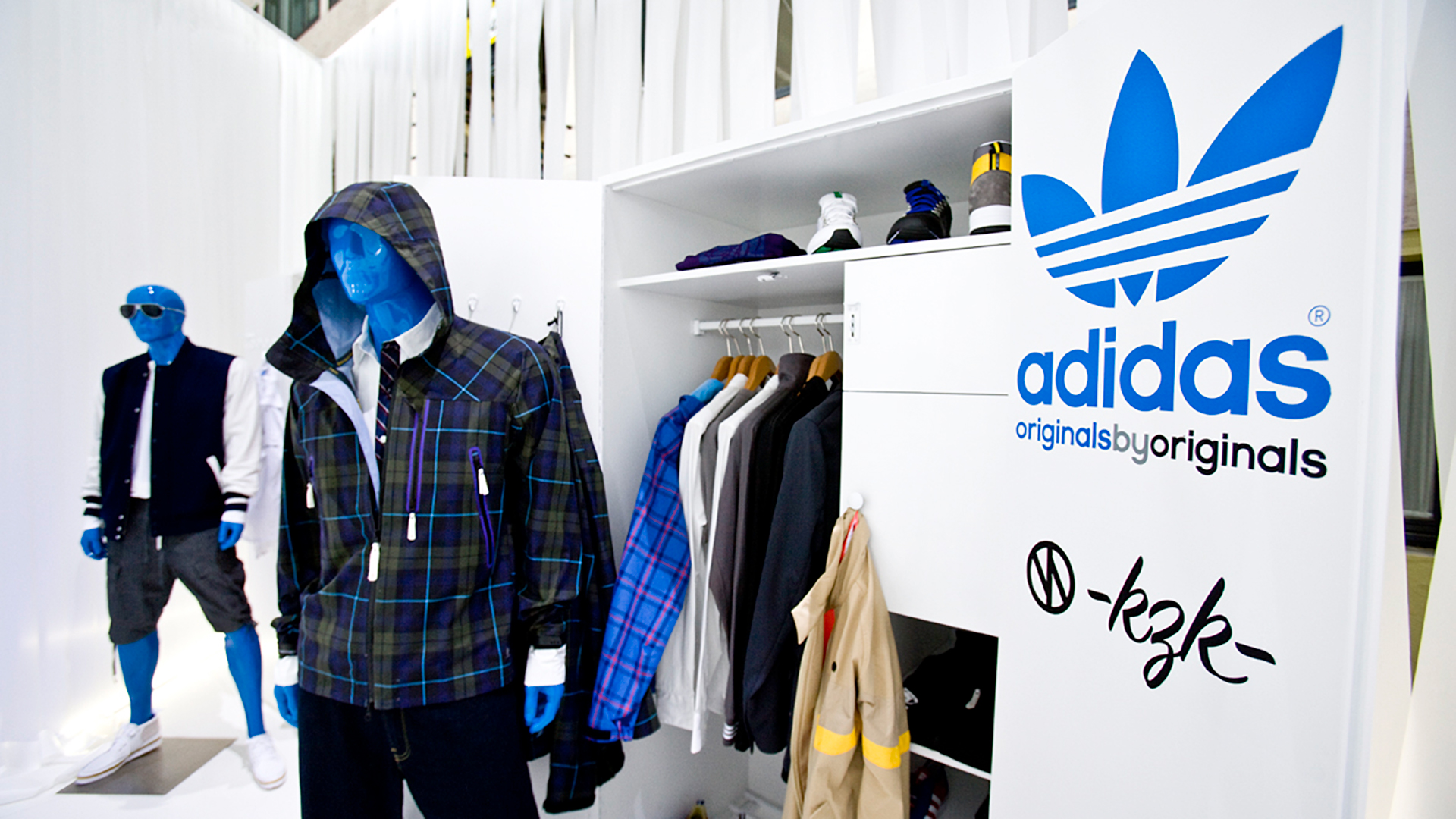 Dart stages the adidas fair stand at the B&B Sommer 2009
