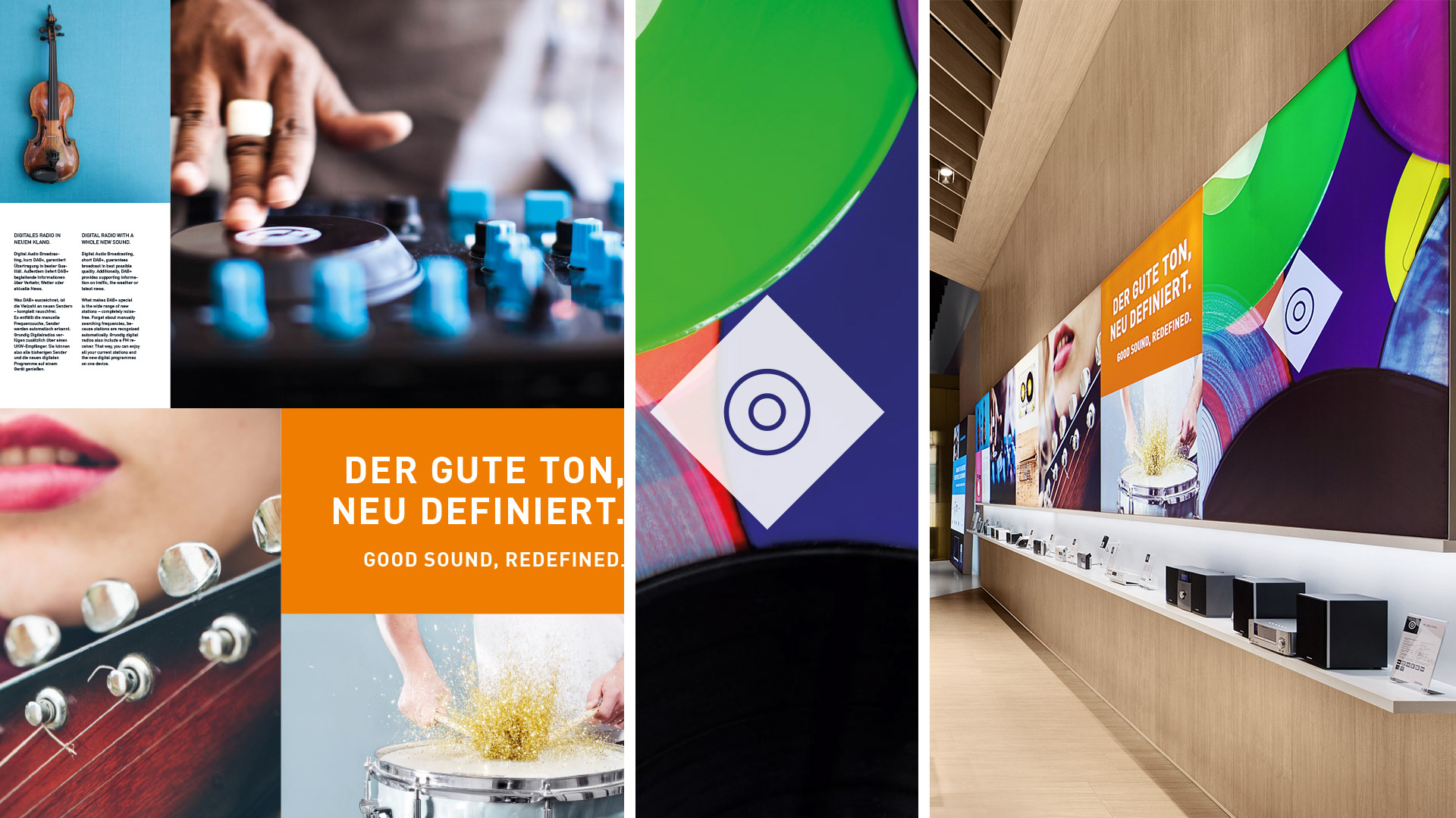 Dart stages Grundig's communication for the IFA 2015