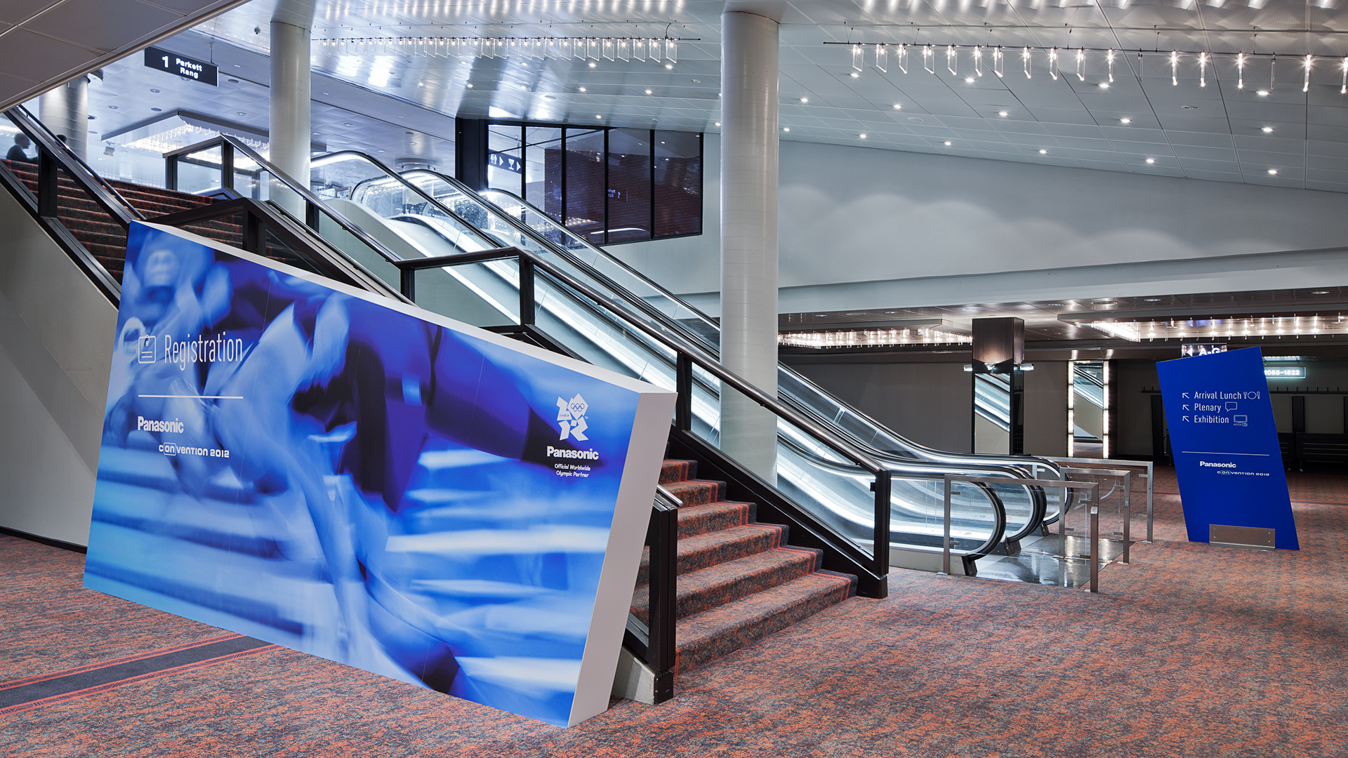 Dart stages the exhibition Convention 2012 for Panasonic