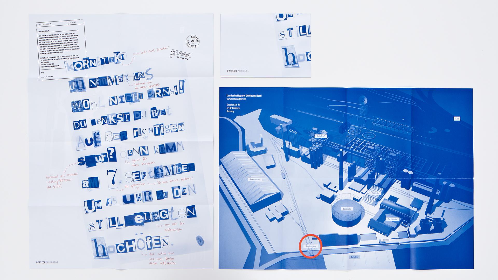 Dart inszeniert die Kommunikation der Dart Design Gruppe für das  magazin Innovationsbündler 2012