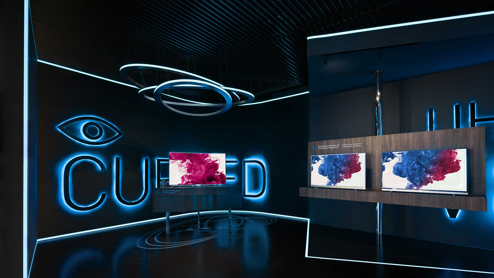 Dart stages the Grundig fair stand at the IFA 2014