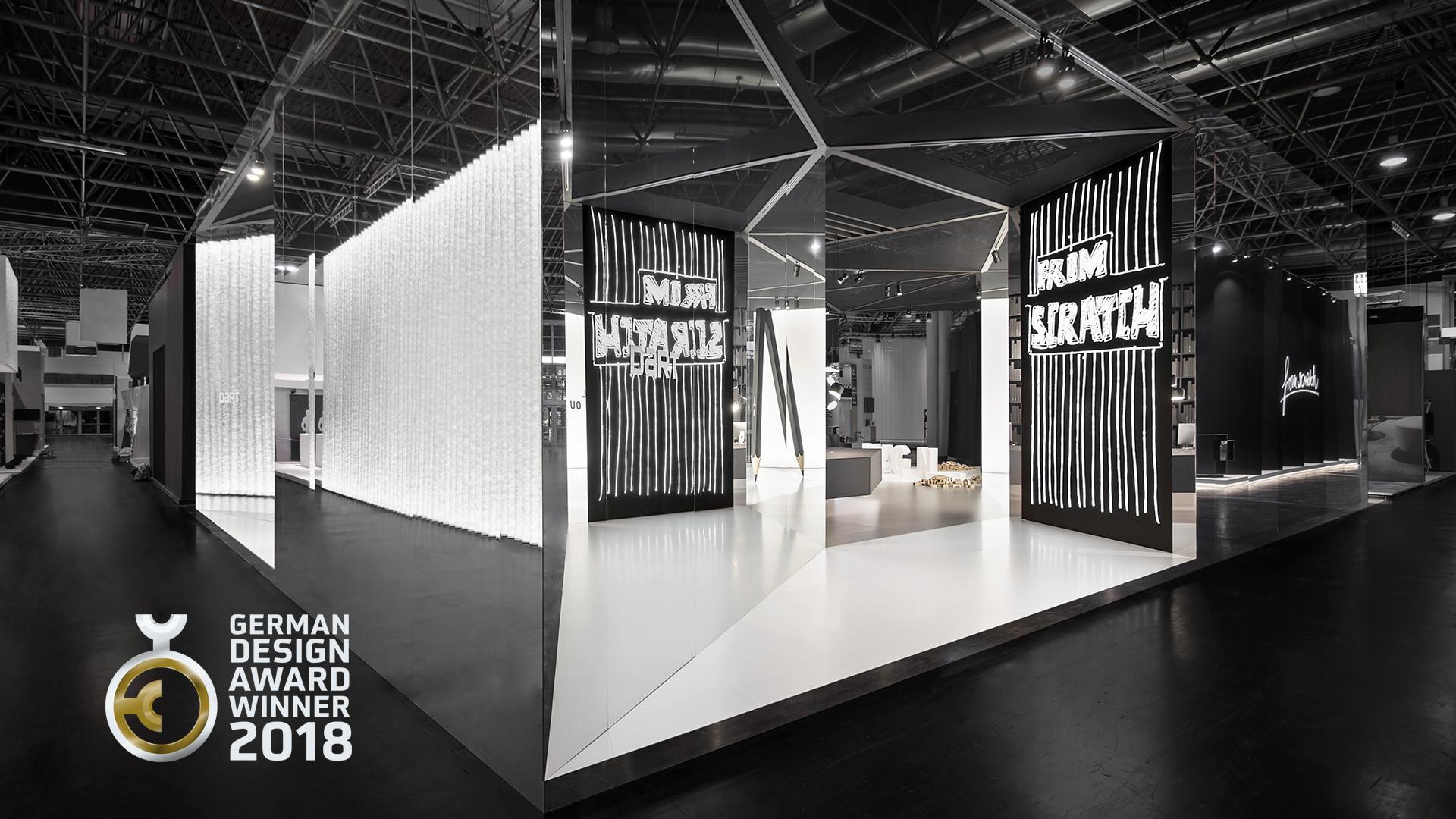 distinguished german design award 2018 for from scratch news d 39 art design gruppe. Black Bedroom Furniture Sets. Home Design Ideas