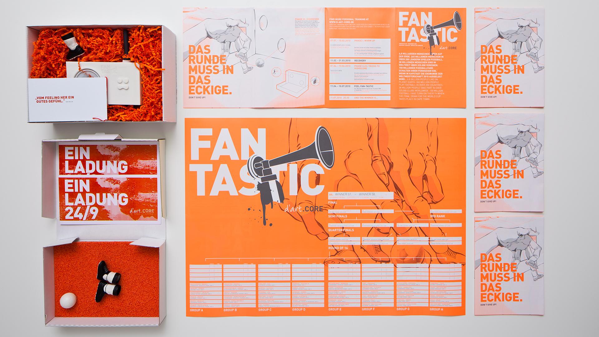 Dart inszeniert die Kommunikation von der Dart Design Gruppe für Fantastic 2010