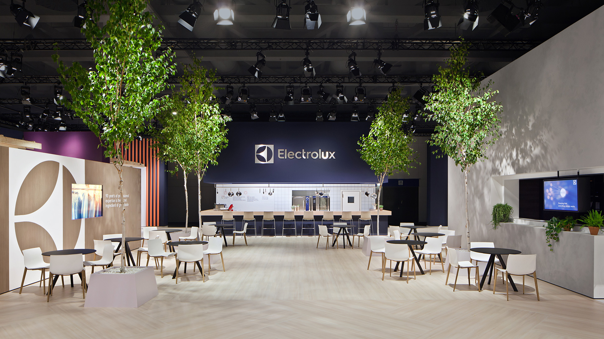 Dart stages the Electrolux fair stand at the IFA 2015