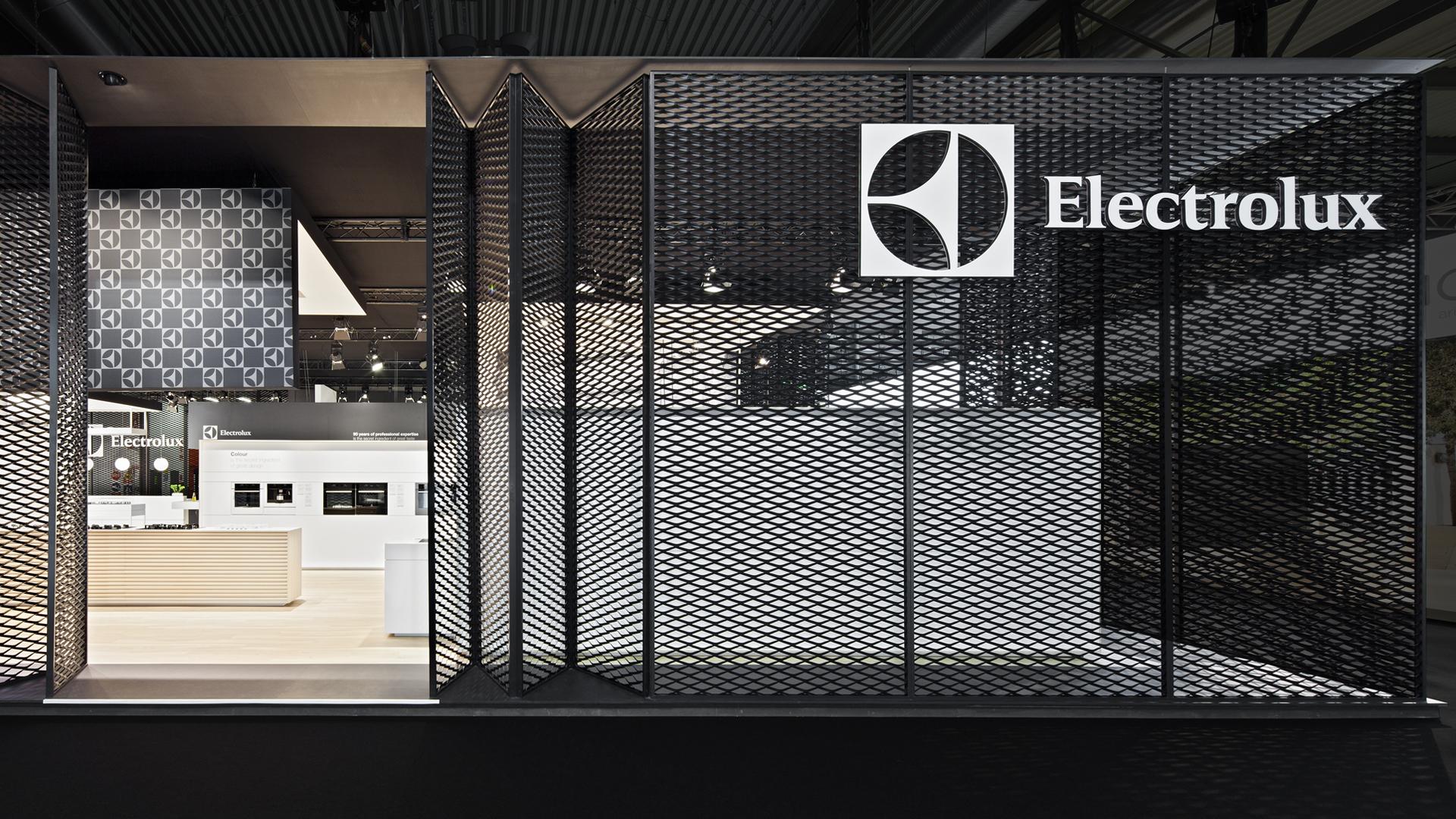 Dart iszeniert den Messestand von Electrolux auf der EuroCucina 2014