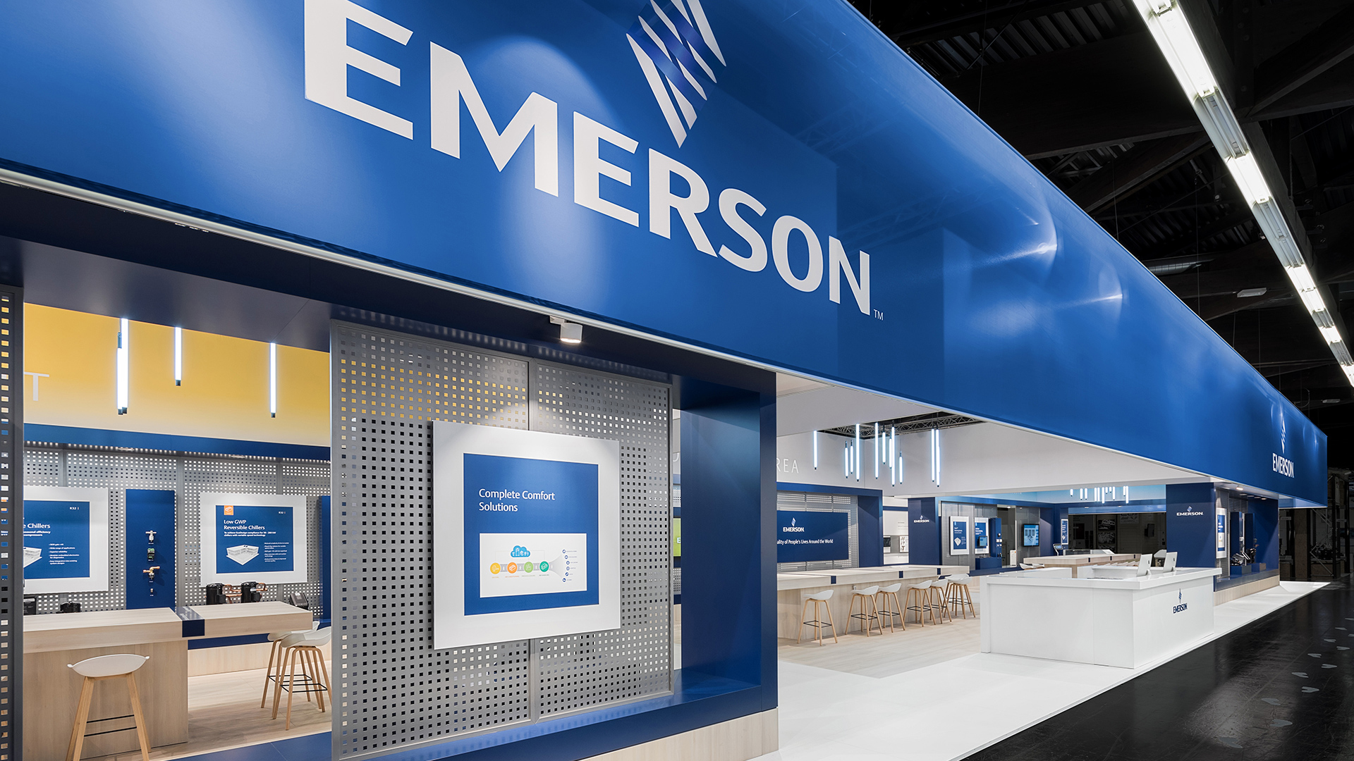Dart stages the Emerson fair stand at the Chillventa 2018