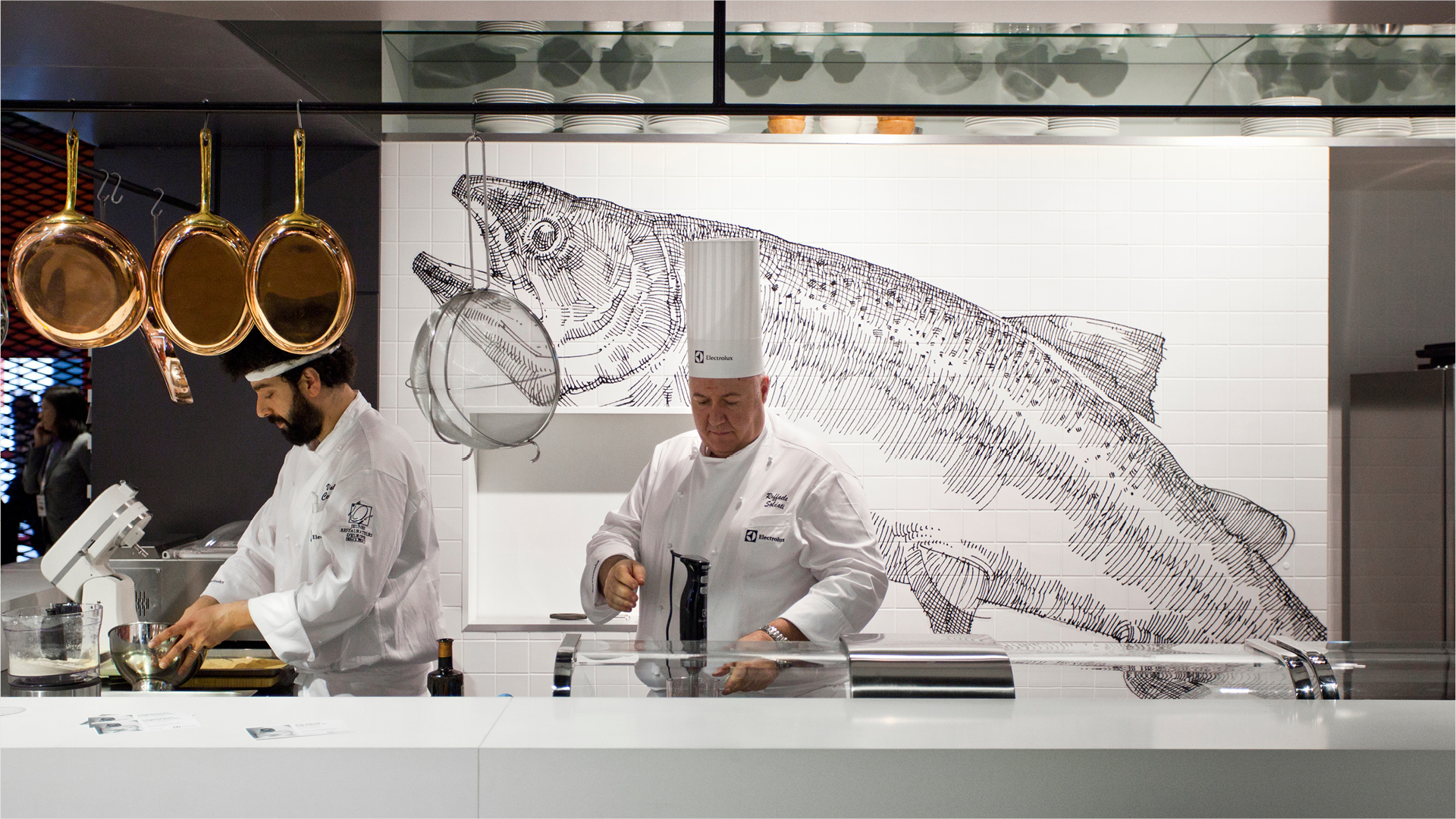 Dart stages the communication of Electrolux for the EuroCucina 2014