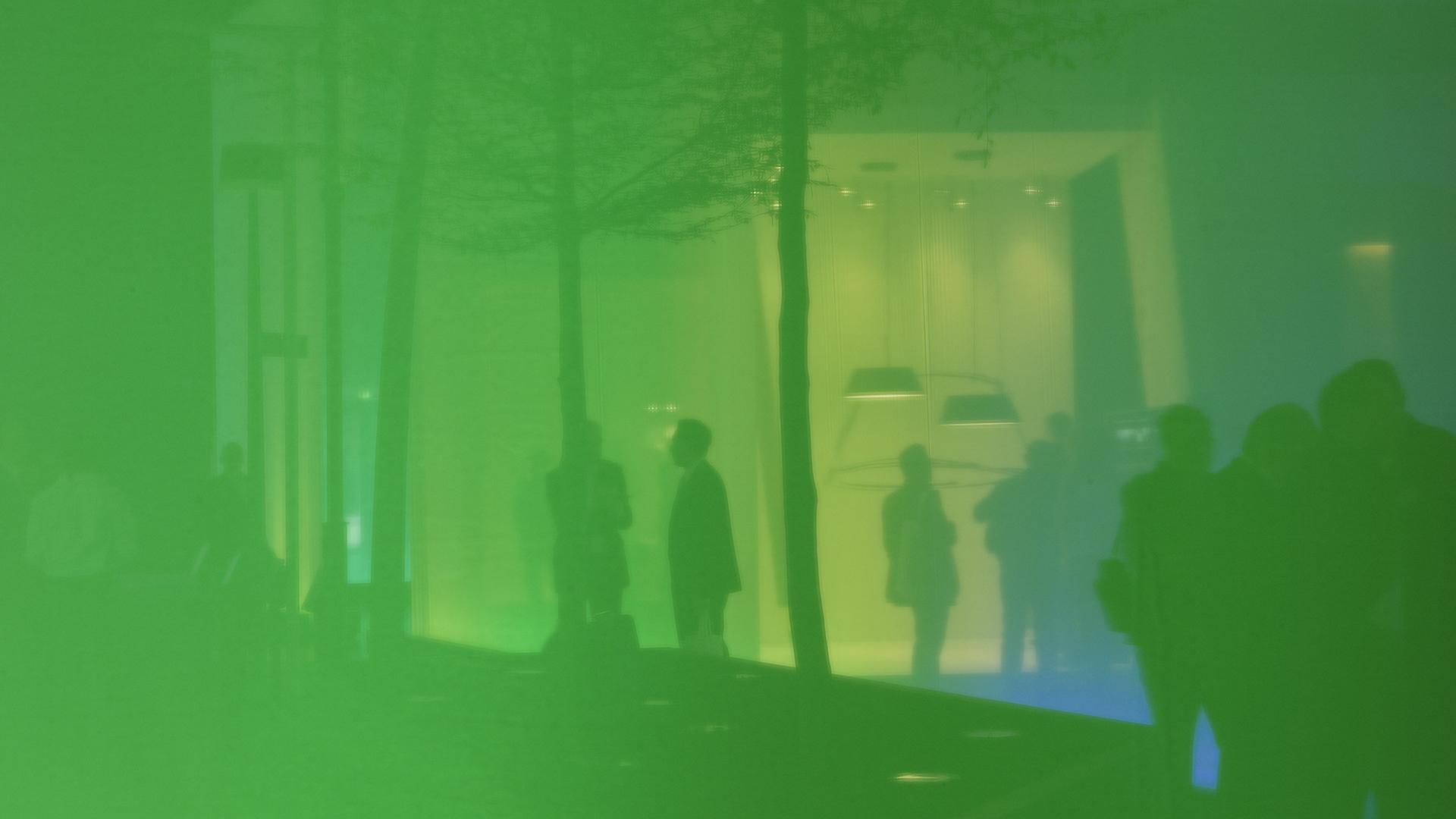Dart inszeniert die Mediatektur für Philips auf der Light+Building 2010
