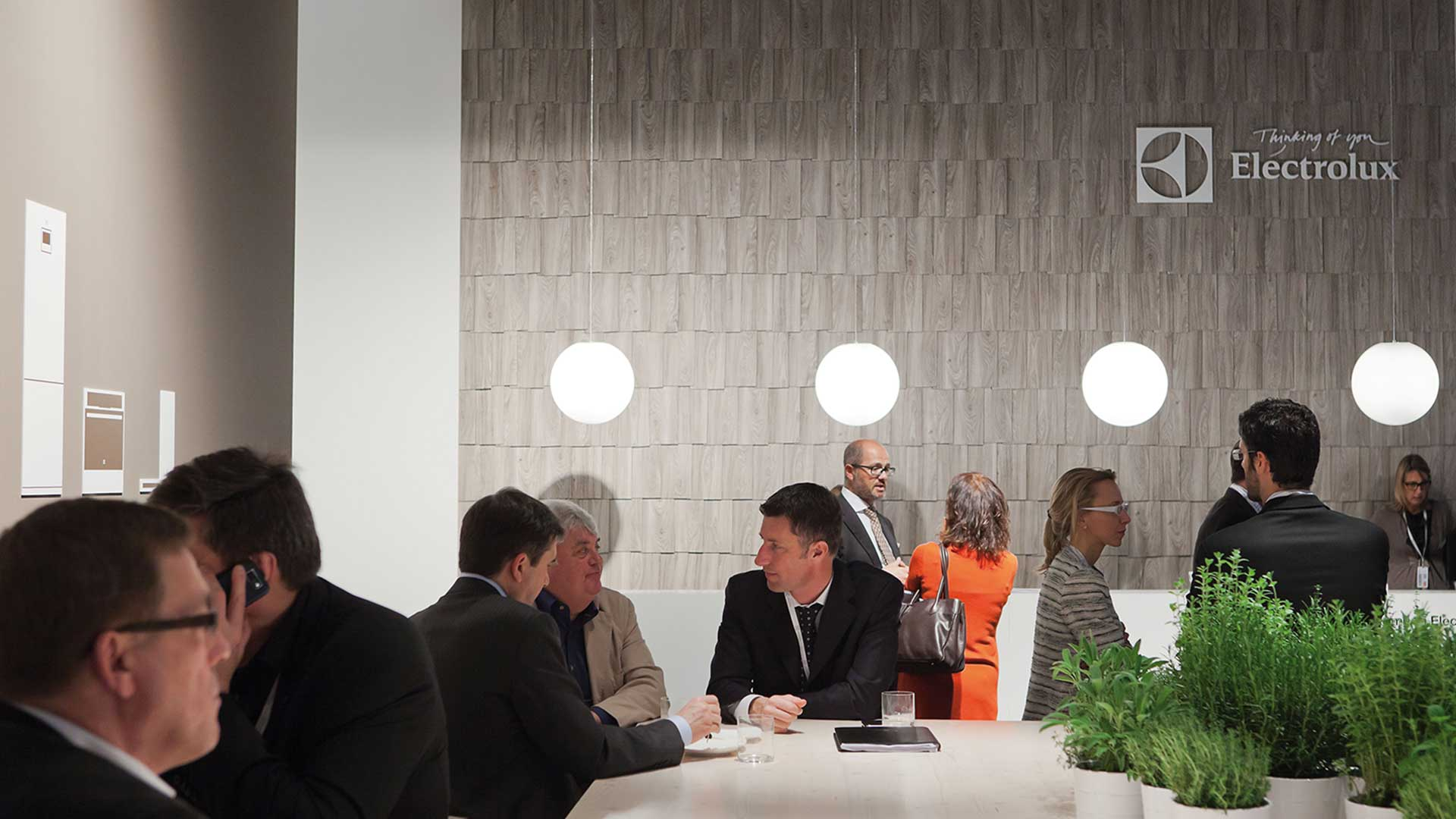 Dart stages the Electrolux fair stand at the EuroCucina 2012