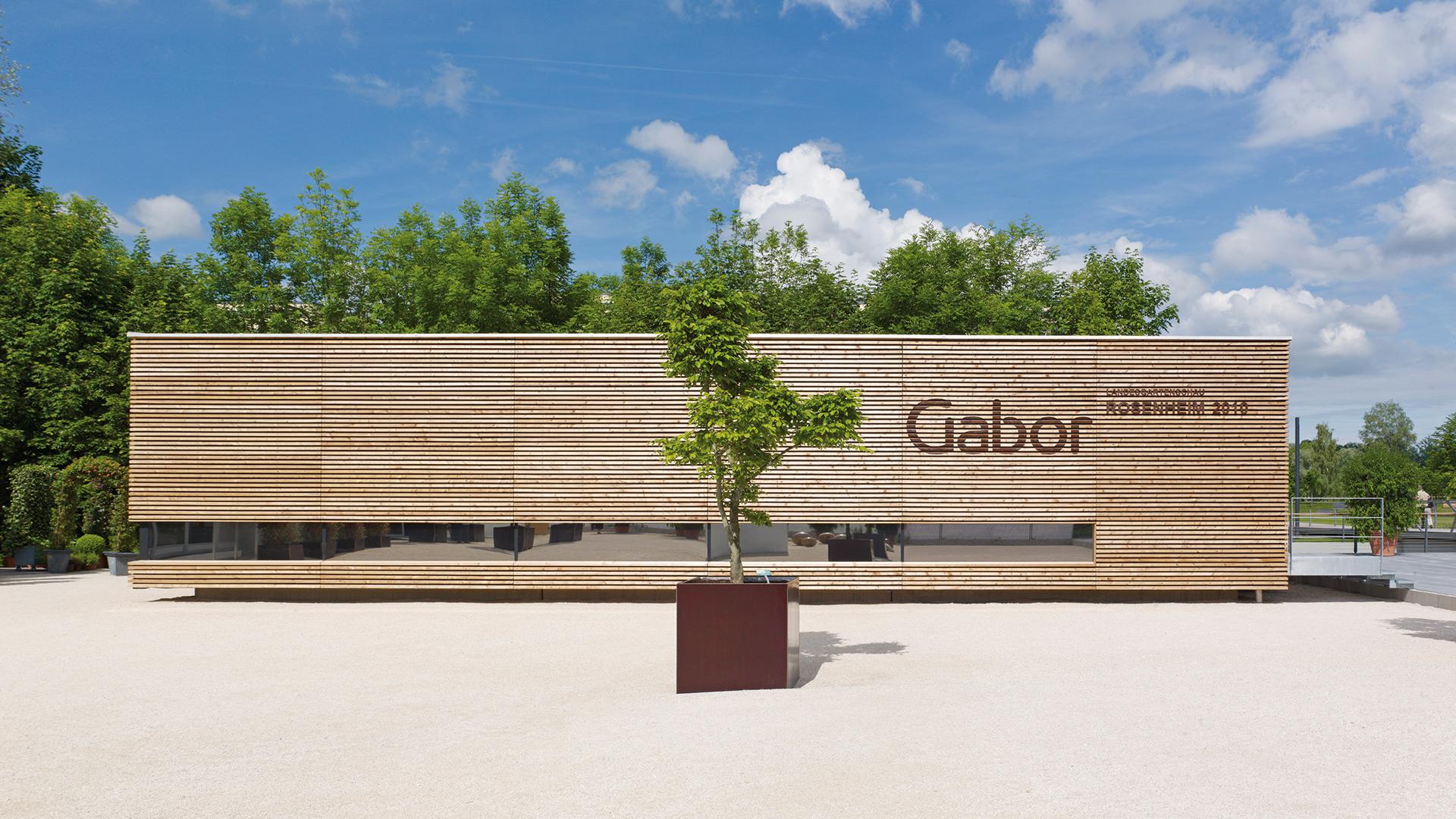 Dart stages the exhibition Landesgartenschau 2010 for Gabor