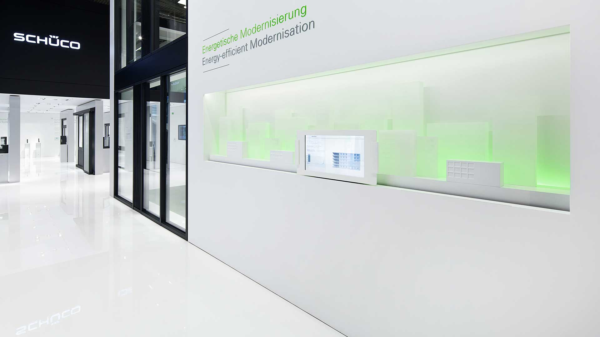 Dart stages the Schüco fair stand at the Bau 2015