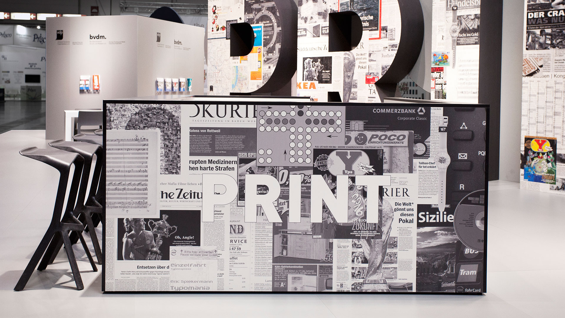 Dart stages the VDP fair stand at the drupa 2016