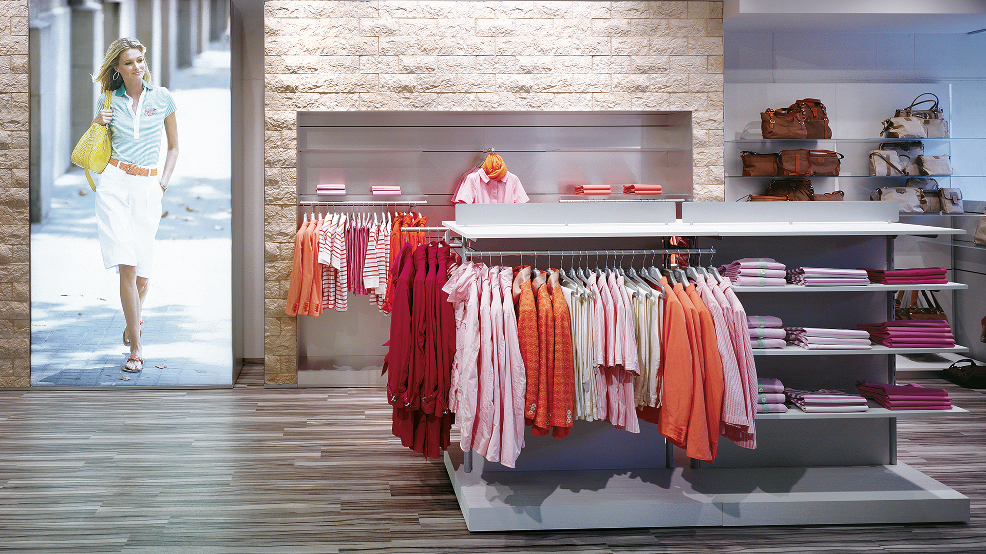 Dart stages the shop concept for Bogner for the Outlet Stores 2010