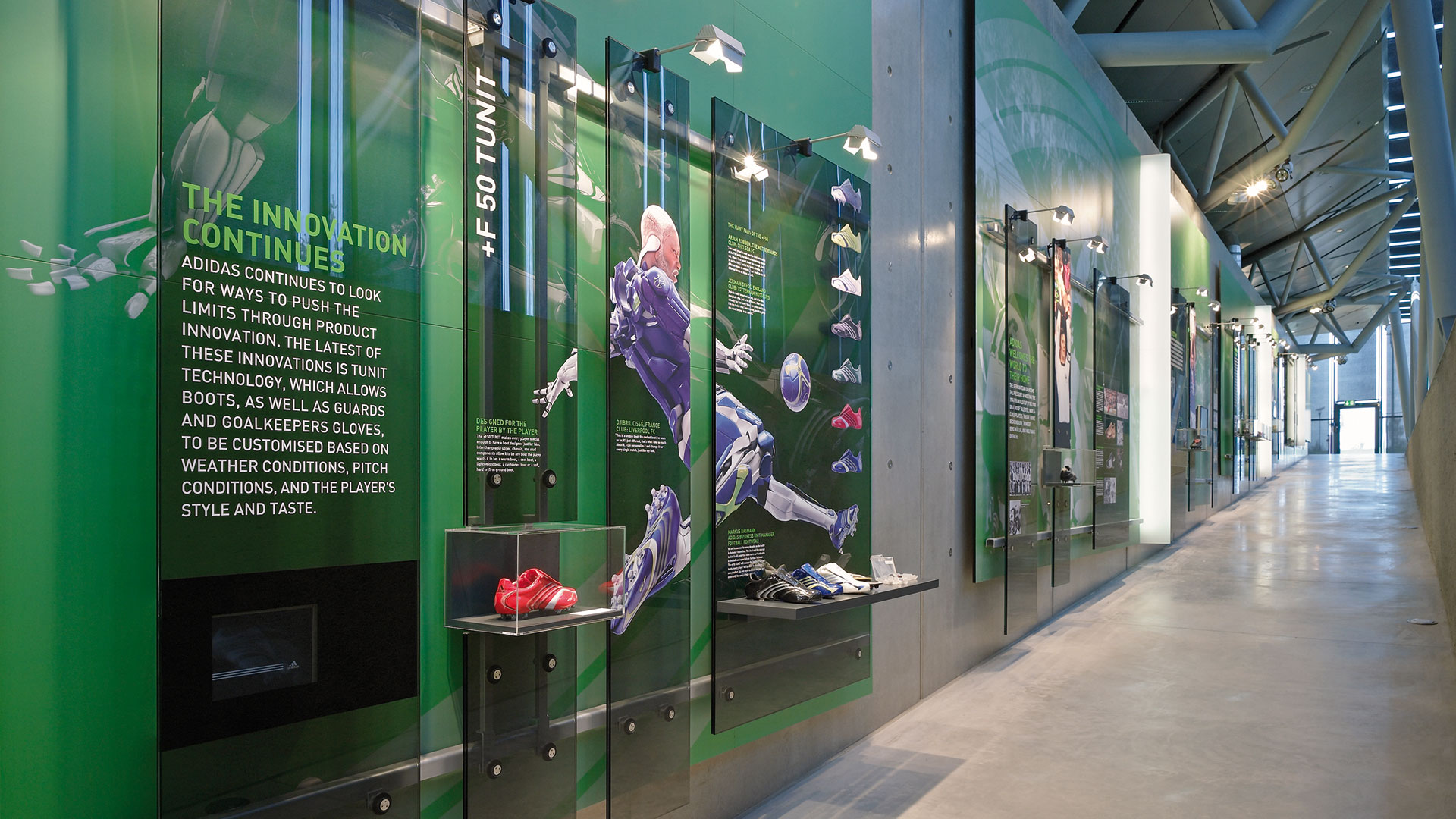 Dart stages the Walk of Fame 2007 exhibition for adidas