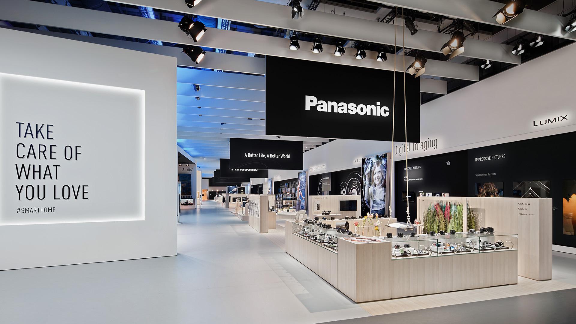 Dart inszeniert den Messestand von Panasonic auf der IFA 2016