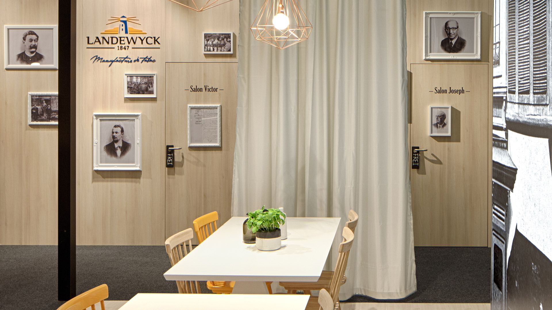 Dart stages the Landewyckfair stand at the InterTabac 2015