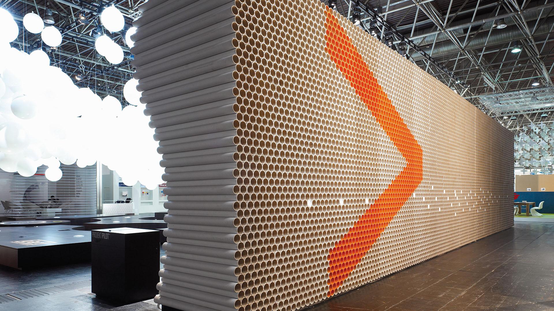 Dart iszeniert den Messestand von Projektpilot auf der EuroShop 2008