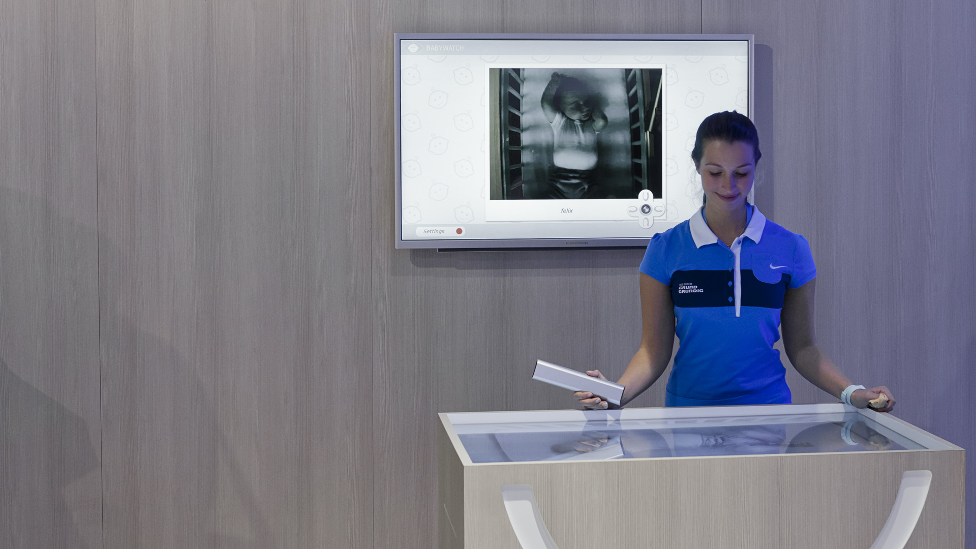 Dart stages the Grundig fair stand at the IFA 2012