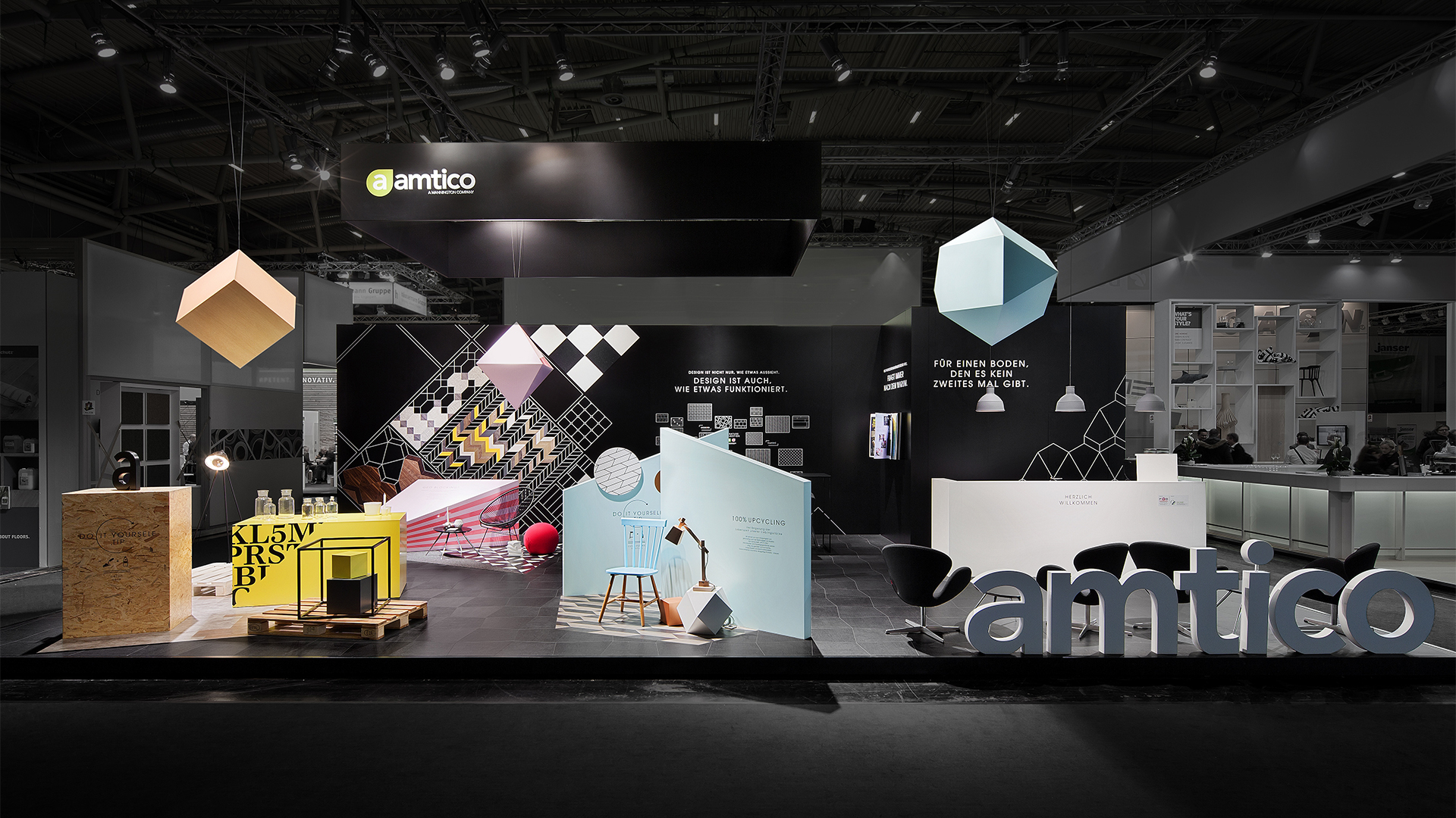 Dart stages Amtico's communication for Bau 2015