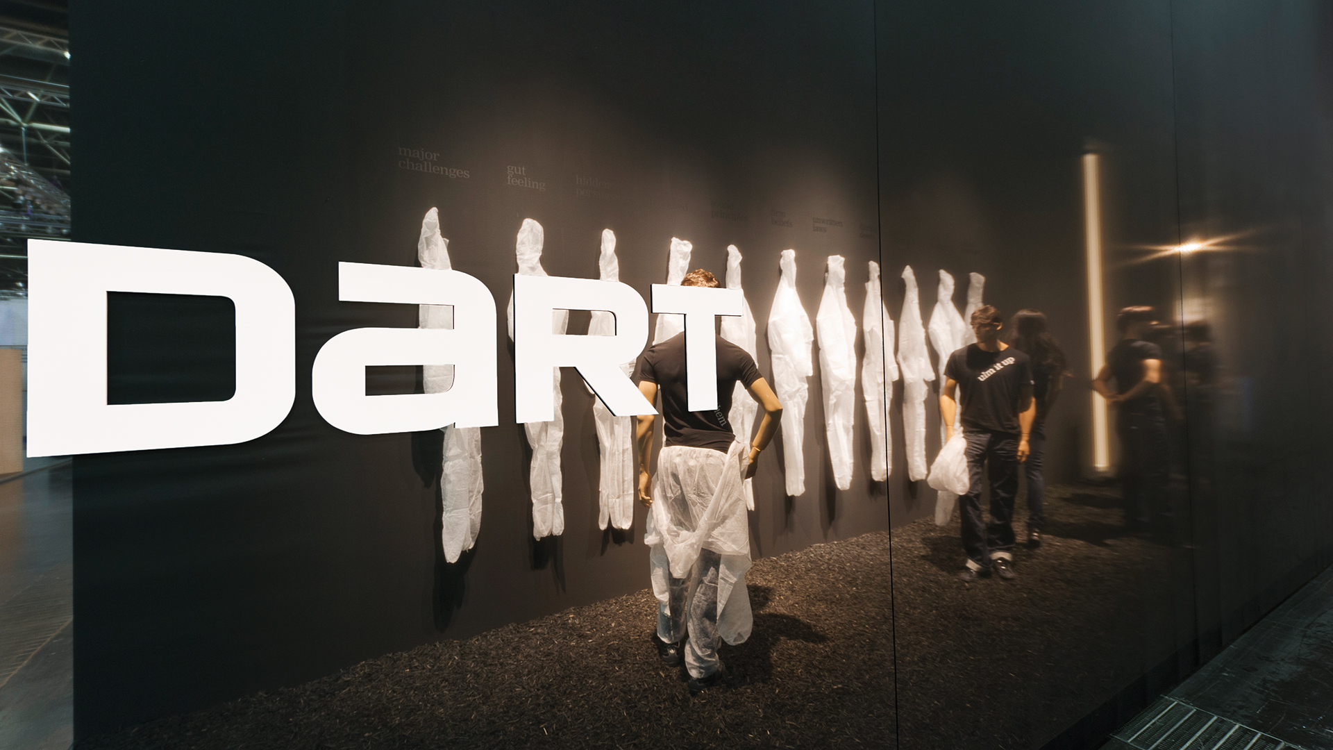 Dart stages the D'art Design Gruppe's own fair stand at the EuroShop 2011