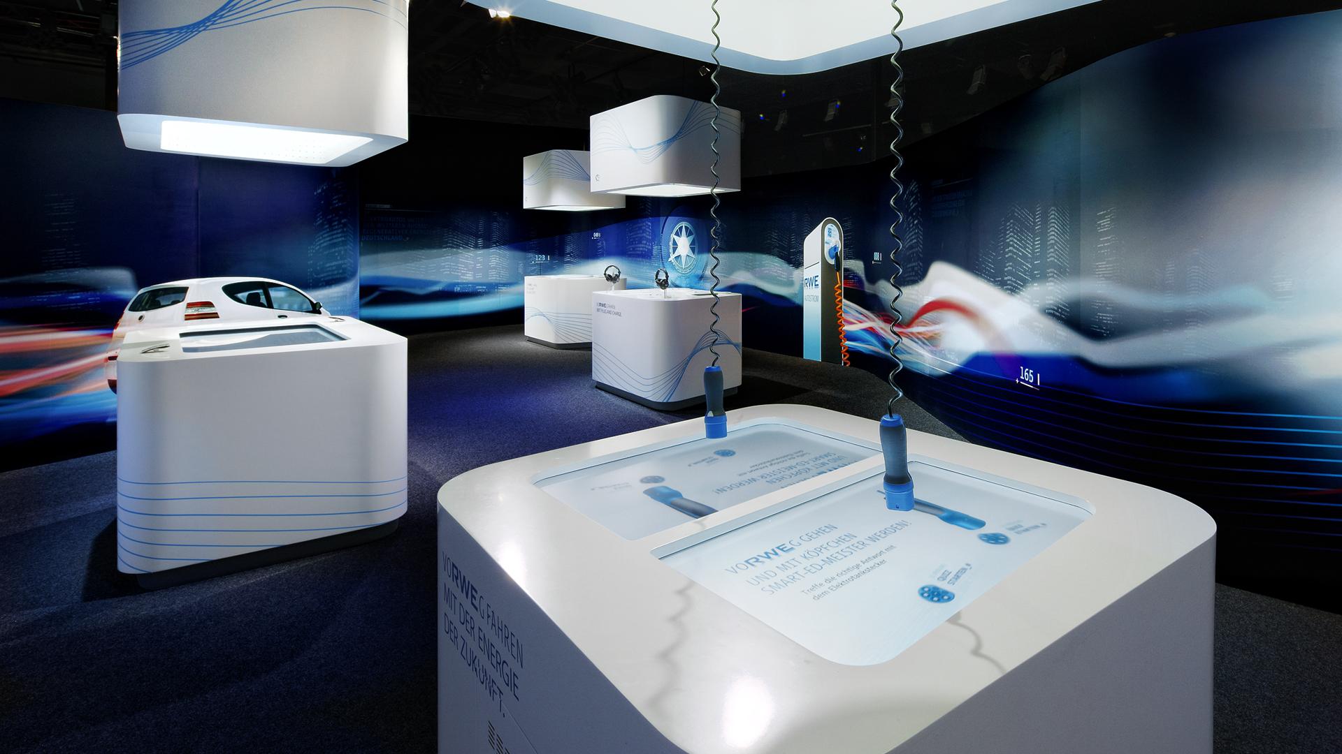 Dart inszeniert die Ausstellung des RWE ring°boulevards 2009 für RWE