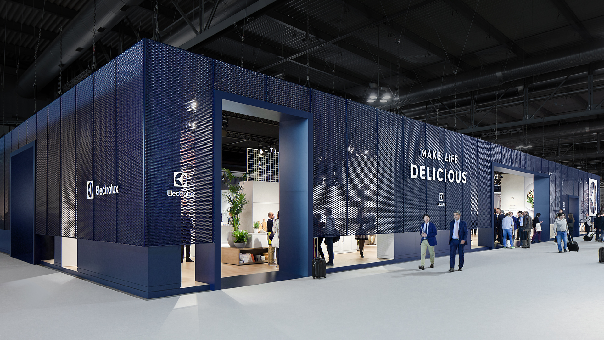 Dart stages the Electrolux fair stand at the EuroCucina 2016